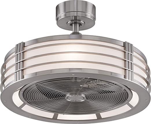 """Fanimation Beckwith 12"""" Enclosed Ceiling Fan"""